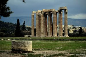 Temple of Olympian Zeus (1) by SteliosKaralis
