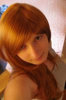 :Me: and my new wig xD by Dark-Nami