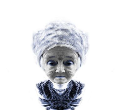 auntie with turban by schamaar