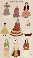mini Historical designs by PurpleWarroir