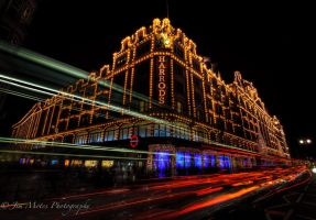 Harrods London at Christmas by jmotes