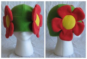 Bellossom Pokemon Hat V2 by cutekick