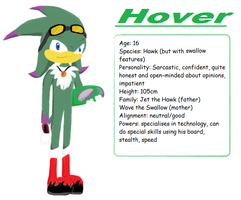 Hover the Hawk profile by The-Blonde-Nerd