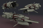 AFF- Thoth Superdreadnought by failurecrusade