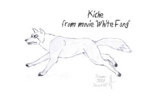 Kiche - Wolf from White Fang by Drzuma