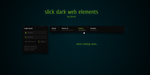 slick dark web elements by Idered