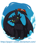 Toothless by Paper-Rabbit