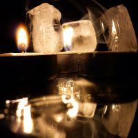 Ice and Candles I by Jade-DV