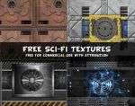 Free Sci-Fi Textures Commercial Use OK by PsdDude