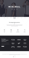 T-ONE Clean, Minimal Web Theme by wpthemes