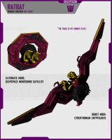 CYBERTRONIAN RATBAT by F-for-feasant-design