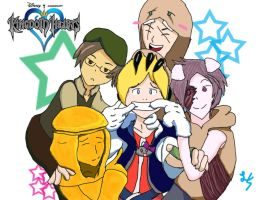 Pewdiepie and Friends + Kingdom Hearts by PikaEeveechu
