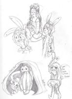 doodles and rp starters by askthumper