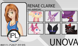IPL Trainer Card - Renae by LupusSilvae