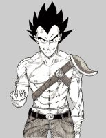 Vegeta by Yfighter2