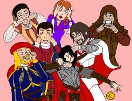Assassin's Creed Brotherhood by natfink93