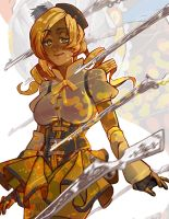 Mami Tomoe by vanduobones