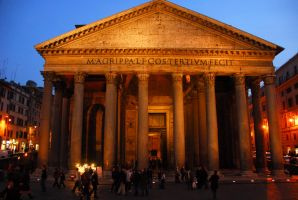 pantheon exterior II by bewing