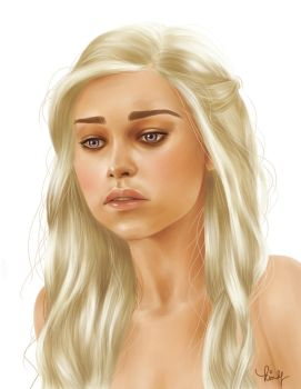 Daenerys Targaryen by kimpertinent