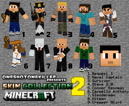 Minecraft: Skin Collection 2 [Randomness] by OneShotOneKiller