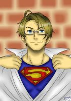 America is Superman by ShesheTheDiclonius