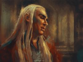 Thranduil by ladynlmda
