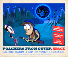 Poachers from Outer Space Poster by Moon-manUnit-42