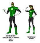 The DC Project: Green Lantern redesign by huatist