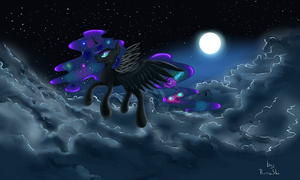 Nightmare in the clouds by RuanHi