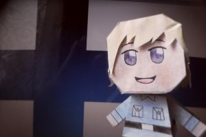 Finland papercraft doll by Smimon