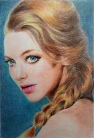 Amanda Seyfried by Zombieyue