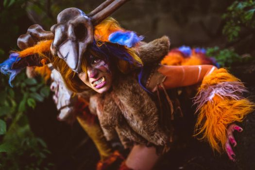 Gnar cosplay from League of Legends by Nimdra