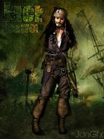 Jack Sparrow Fan Art by JdnGfx