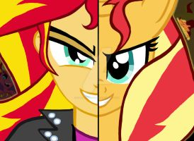 My Little Pony FIM Duality: Sunset Shimmer by OptimumBuster