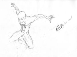 The Amazing Spider-Man work in progress by MrSteph06220