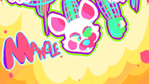So I can take a bite out of you - Mangle chibi by Sniperisawesome