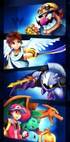 Smash Brothers Newcommers.1 by zgul-osr1113
