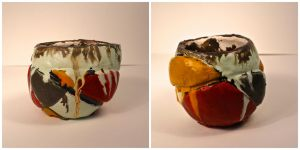 Encaustic Cup by hannerz19