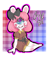 AT: Apple The Pink Cyclops~ by Siinnack