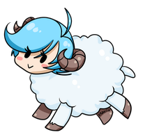 Year of the sheep, year of the Zelie! by Val-Krayon