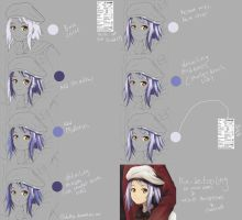 Hair Coloring Tutorial - Paint Tool SAI (By Mouse) by deddyz