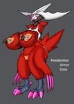 Digiboob Remake: Hootermon by Midnitez-REMIX