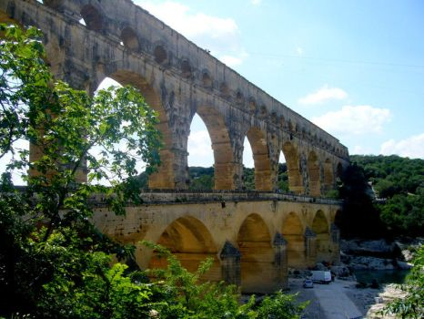 pont du gard by sweet-frog