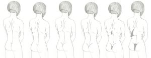 Mai's Transformation: The Back by Imperator-Zor