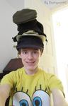 The Leaning Tower of Hats by Duckyworth