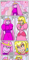 Super Candy Peach Battle by curtsibling
