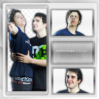 +Pack PNG. {Rubius y Mangel} by OriginalsTutos