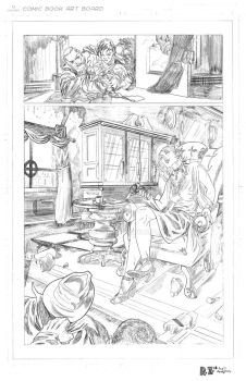 The Spirit- Page 5 PENCILS by ZUCCO-ART