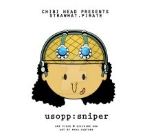 Chibi Head: Usopp by infinity-myka