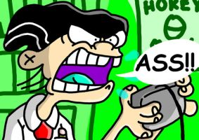 The Angry Video Game Nerd...? by RJGrid